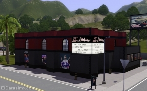 Обзор города Старлайт Шорз в «Симс 3 Шоу-бизнес»