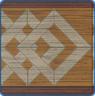 """Набор """"Квадратоворот"""": спрятанные квадраты, верхняя и нижняя кайма - угловая"""