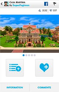 Мобильное приложение The Sims 4 Gallery