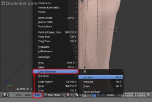 Хитрости работы в Blender над позами для The Sims 3