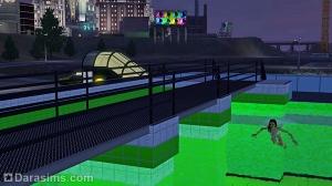 Обзор Бриджпорта из The Sims 3 Late Night