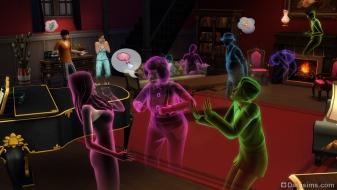 Призраки в The Sims 4