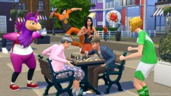 Болельщики в The Sims 4