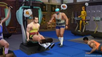 Спортсмены в The Sims 4
