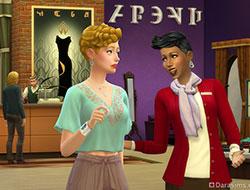 Магазин одежды в The Sims 4 Get to Work