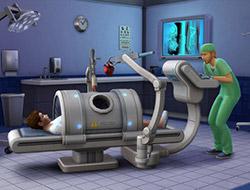 Доктор в больнице в The Sims 4 Get to Work