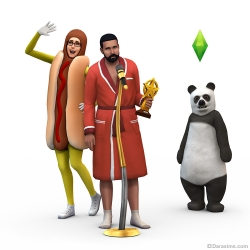 Рендер из The Sims 4