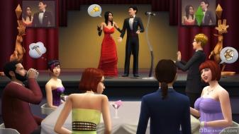 Вручение премии Оскар в The Sims 4