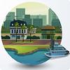 Новые локации в The Sims 4 Get To Work: Магнолия Променад и карьерные здания
