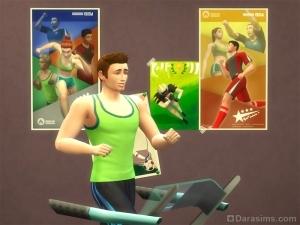 Карьера спортсмена в «Симс 4»