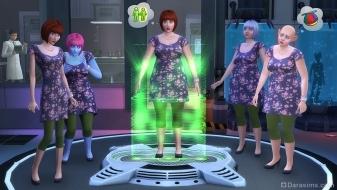 Клонирование в The Sims 4 Get to work