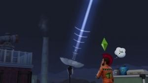 Вызов пришельцев в Симс 4