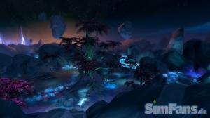 Космический мир в Симс 4