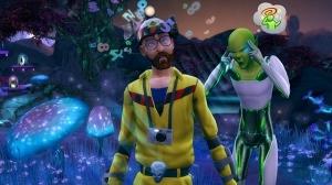 Беременные инопланетяне в «The Sims 4 На работу!»