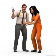 Детектив и арестант в «Симс 4 На работу!»