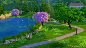 Виллоу Крик Sims 4