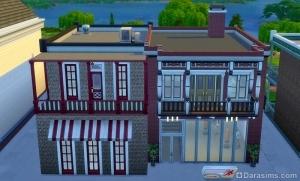 Спортзал в Sims 4