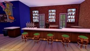 Ночной клуб в Sims 4