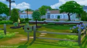 Виллоу Крик – детальный обзор города Sims4