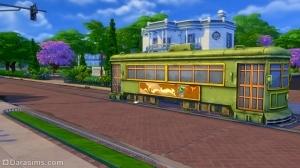 Трамвай симс 4