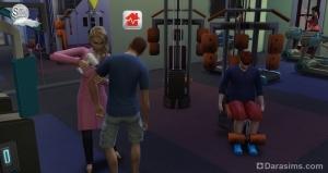 доктор прибыл на место эпидемии в The Sims 4 На работу!
