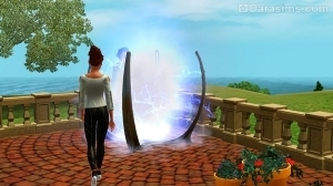 Путешествие в будущее Симс 3