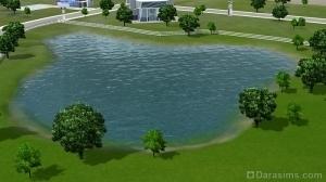 Озеро в Оазисе Приземления