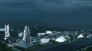 Городок из Симс 3 Вперед в будущее