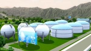 Резервуары в Оазисе Приземления
