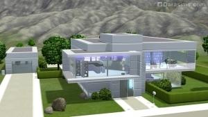 Архитектура будущего в The Sims 3