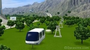 Летающий поезд СУПЕР
