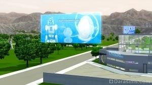 Голографическая реклама в будущем