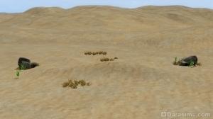 Заброшенная пустошь — участок в Оазисе Приземления
