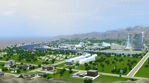 Город будущего в Симс 3