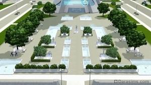 Мемориальный парк в Оазисе Приземления