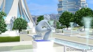 Статуя почета в мемориальном парке