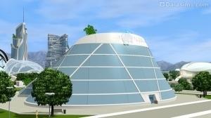 Голографический кинотеатр из Симс 3 Вперед в будущее