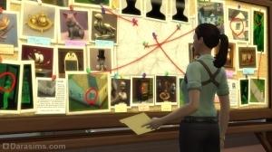 Схема преступления в карьере детектива