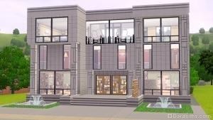 Библиотека в Sims 3 Town Life