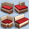 Манипуляции с модульными сиденьями в Симс 3