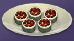 Фруктовые пирожные