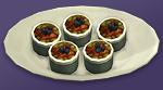 Фруктовые пирожные Ассорти