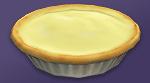 Пирог с бананами и кремом