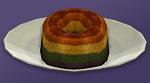 Желатиновый торт Радуга