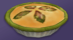 Торт-безе с эссенцией жвачного растения