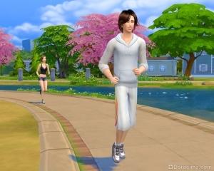 Утренние пробежки в sims 4