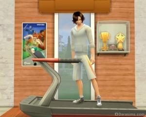Большой спорт в sims 4