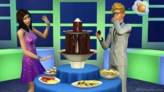 Шоколадный фонтан из «Роскошной вечеринки»