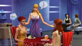 Женские платья в The Sims 4 Роскошная вечеринка