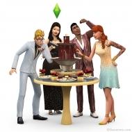Шоколадный фонтан в The Sims 4 Luxury Party Stuff Pack